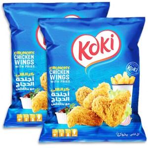 Koki Chicken Wings 2x700 gm | Nextbuy.ae